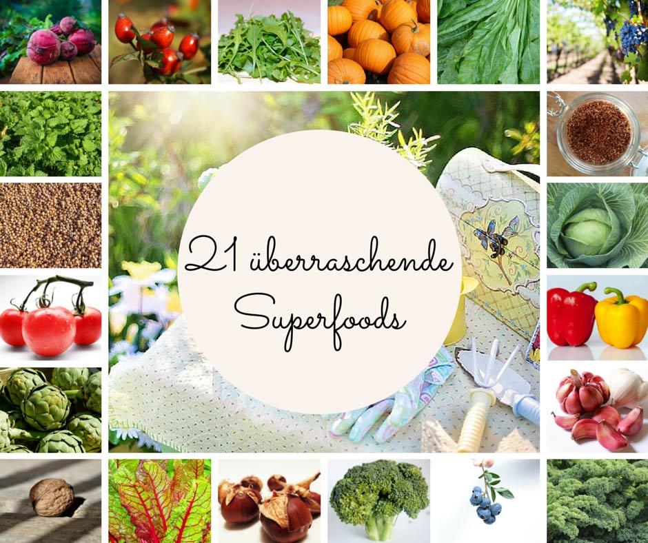 21 überraschende Superfoods