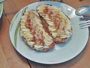 Banane am Brot? Ja, klar.