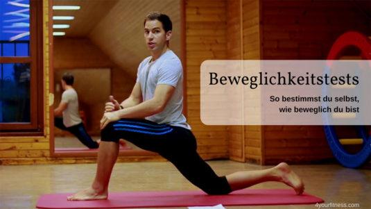 Beweglichkeitstest Titelbild