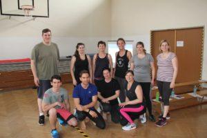 Die Workshopteilnehmer/innen in Mörbisch haben nach dem Workshop Zugang zum E-Book und damit einen Trainingsplan für zuhause bekommen.