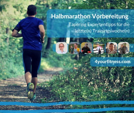 Halbmarathon Vorbereitung Tapering Expertentipps Titelbild