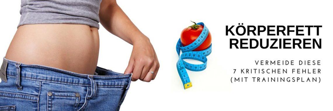 In diesem Artikel zeige ich dir Schritt für Schritt wie du Körperfett reduzieren kannst.