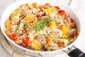 Quinoa eignet sich gut als Alternative zu Reis und Nudeln.