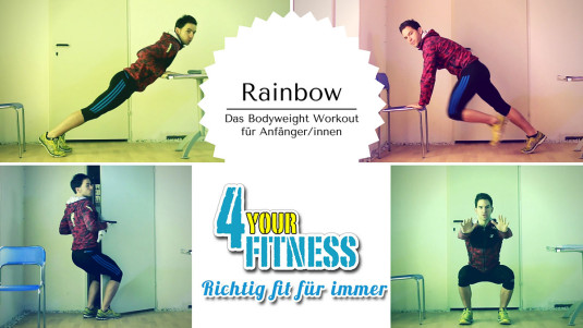 Rainbow: Das Bodyweight Workout für Anfänger/innen