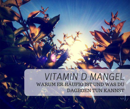 Vitamin D Mangel Titelbild
