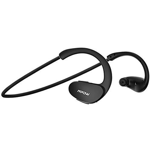 Mpow Cheetah Bluetooth Kopfhörer, Wasserdicht Sport Kopfhörer Kabellos, 8 Stunden Spielzeit/AptX Stereo-Sound/Mikrofon, SportKopfhörer Joggen/Laufen/Fitness für iPhone Samsung Android usw
