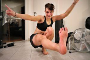 Der Pistol Squat - eine sehr herausfordernde Bodyweight Übung