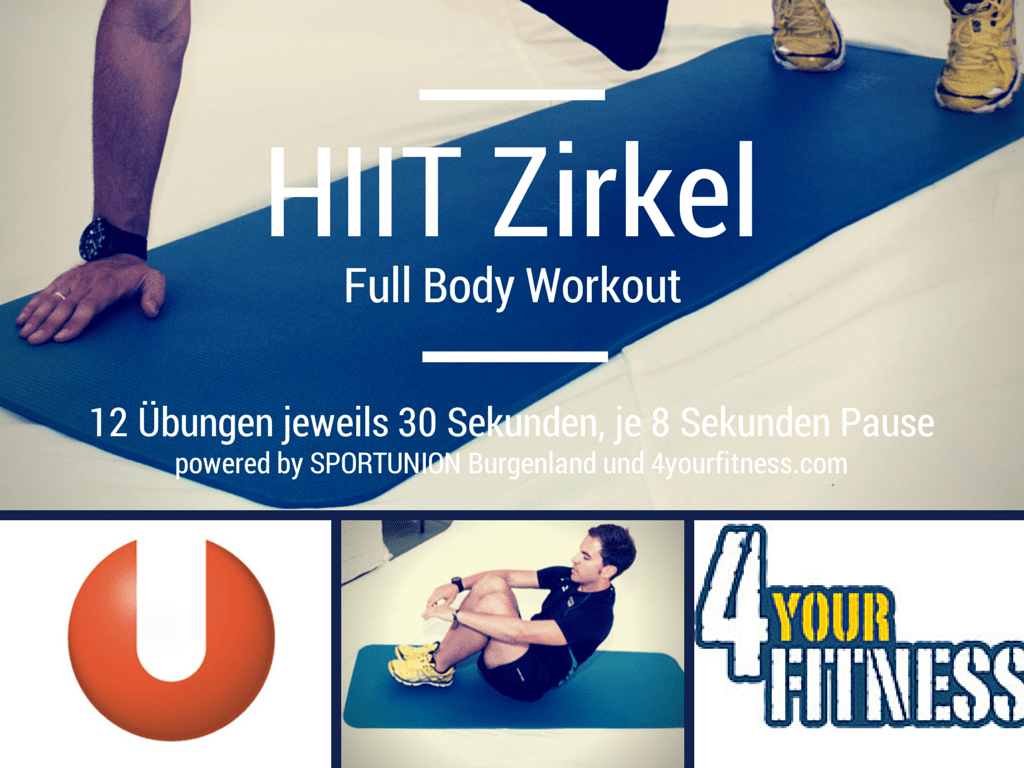 Full Body Workout im HIIT Stil