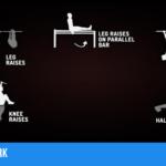 Die Workouts werden auch als schöne Übungsübersicht dargestellt.