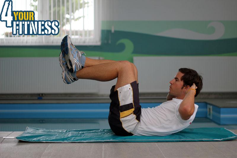 Bauchmuskelübungen für zu Hause - Crunch 2