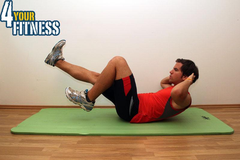 Bauchmuskelübungen für zu Hause - Crunch labil