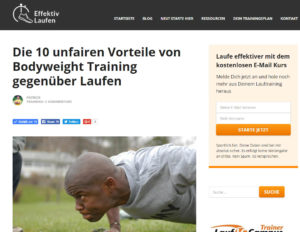 Screenshot effektivlaufen.de vom 8.9.2016
