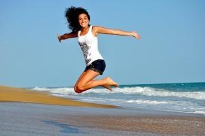 Sport machen hat viele Vorteile! Ausgeglichener und zufriedener zu sein ist nur einer davon.