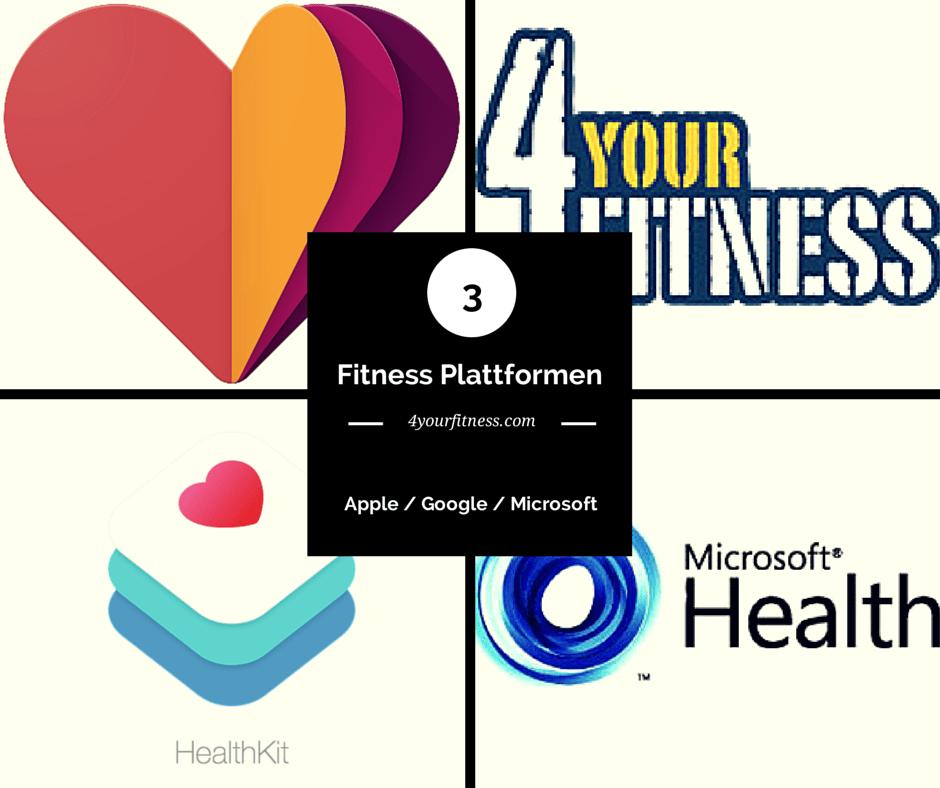 3 IT-Riesen im Kampf um die beste Fitness Plattform