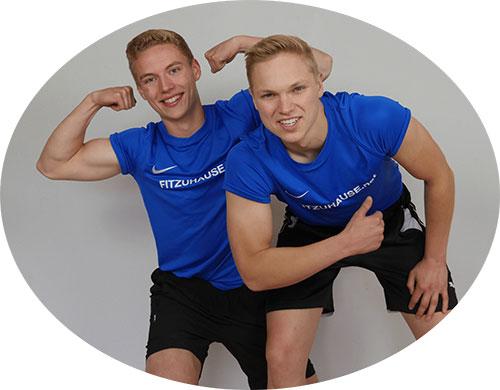 Freddi und Daniel von fitzuhause.net