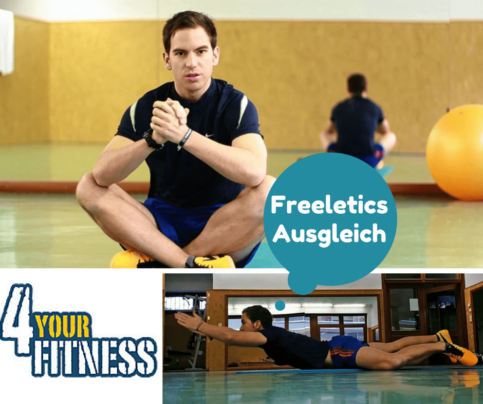Freeletics Ausgleich - Tipps und Übungen