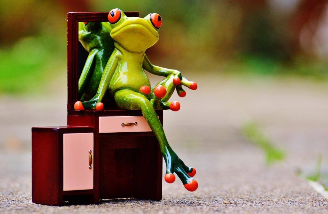 Der Spiegeltrick: Stelle dir vor, wie du in 5 Jahren im Spiegel aussiehst, wenn du nichts veränderst ...