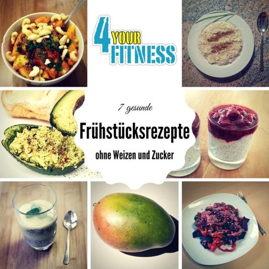 7 gesunde Frühstücksrezepte