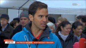 """In ORF 2 bei Guten Morgen Österreich als """"Bodyweight Trainer"""""""