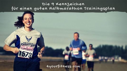 Halbmarathon Trainingsplan