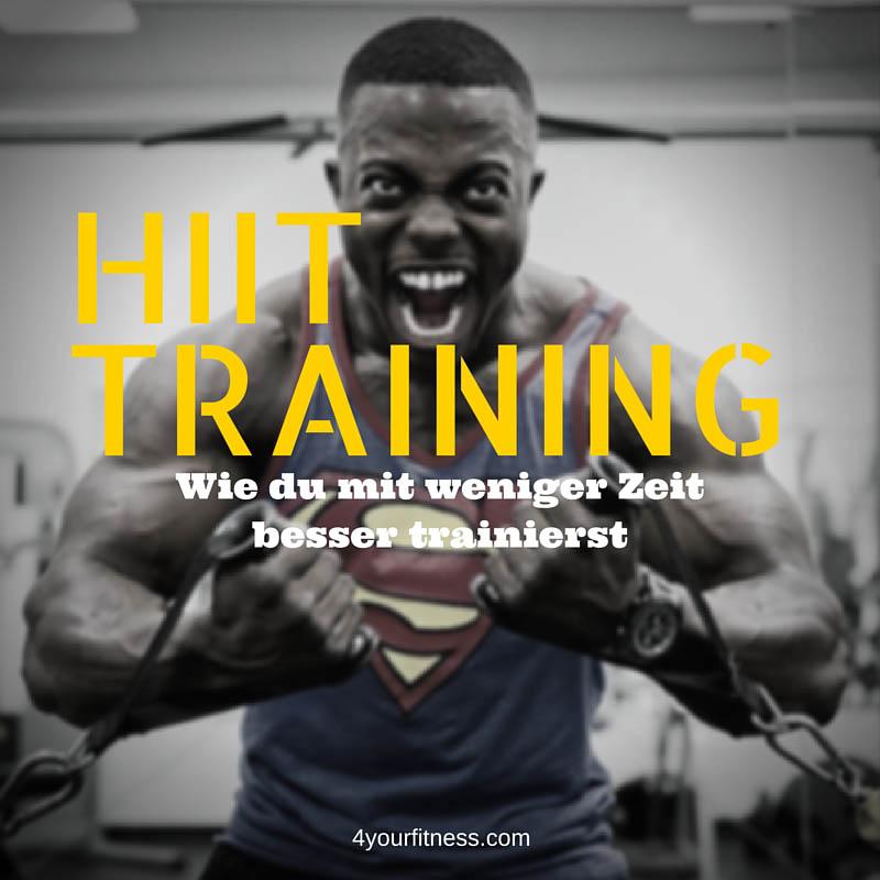 HIIT Training: Wie du mit weniger Zeit besser trainierst