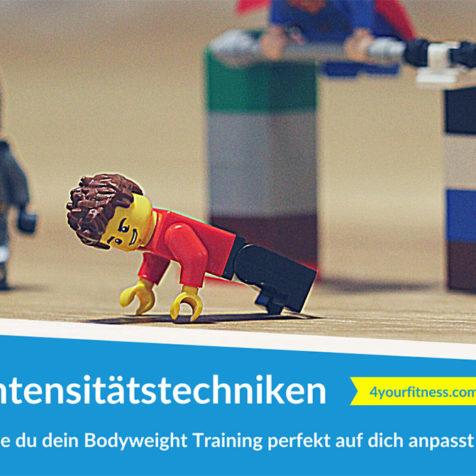 Intensitätstechniken: Wie du dein Bodyweight Training perfekt auf dich anpasst