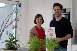 Ernährungswissenschafterin und Buchautorin Johanna Sillipp mit Blogger Patrick Bauer