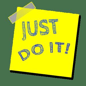Mach es einfach. Dann wird aus Motivation Gewohnheit und du kannst leichter dranbleiben!