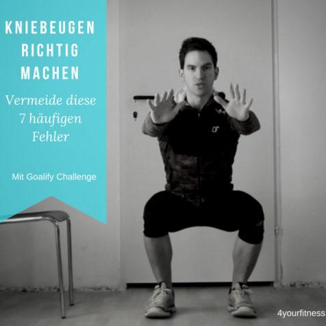Kniebeugen richtig machen: Vermeide diese 7 häufigen Fehler!