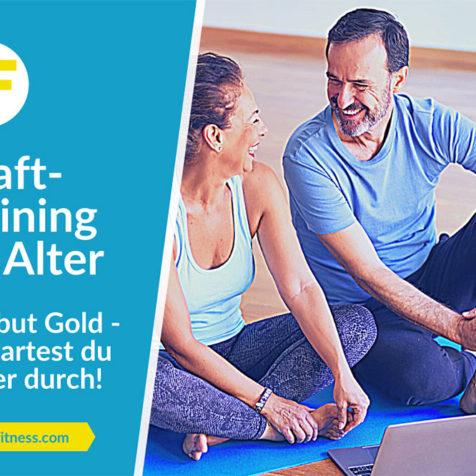 Krafttraining im Alter: Old but Gold - so startest du sicher durch!