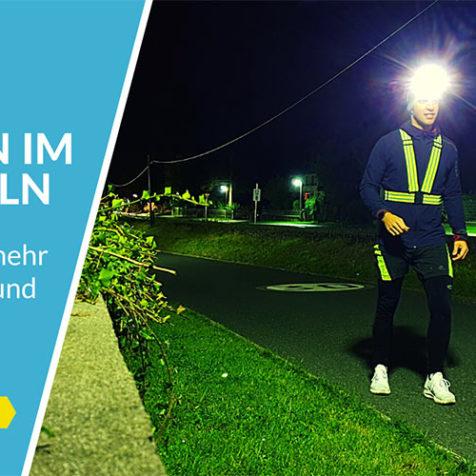 7 Tipps für mehr Motivation und Sicherheit beim Laufen im Dunkeln