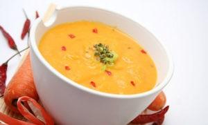Eine Suppe geht immer! :-)