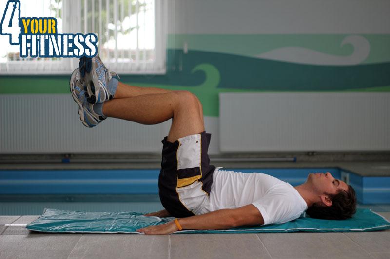 Bauchmuskelübungen für zu Hause - Lower Crunch