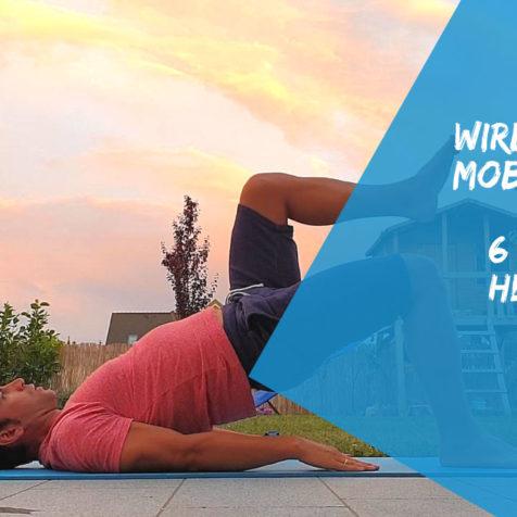Lendenwirbelsäule mobilisieren: Diese 6 Übungen helfen dir dabei!