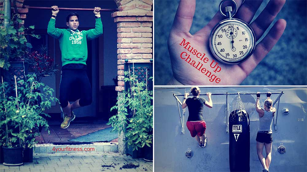 Muscle Up Challenge Titelbild