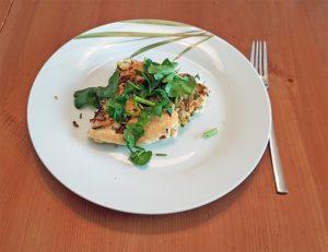 Dieses Omelette ist etwas aufwändiger zuzubereiten, schmeckt dafür aber hervorragend.