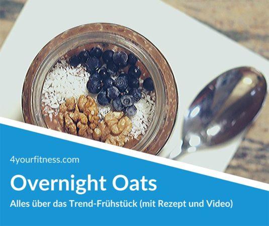 Frühstück im Glas, Overnight Oats, Titelbild für Artikel