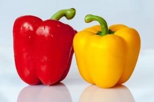Ein Superfood - viele Farben und Formen: Der Paprika.
