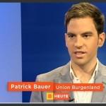 Mag. Patrick J. Bauer gibt in einer Fernsehsendung Tipps um Kinder für Bewegung zu begeistern (Quelle: ORF TV Thek, Burgenland heute)