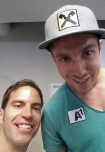 Am Ende des Workshops ging sich dann auch noch ein schneller Selfie aus - danke Marcel!