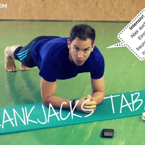 Plank Jacks Tabata Workout: Das intensive 4 Minuten Core Training