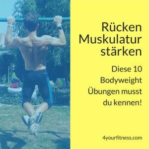 Rückenmuskulatur stärken: Diese 10 Bodyweight Übungen musst du kennen!