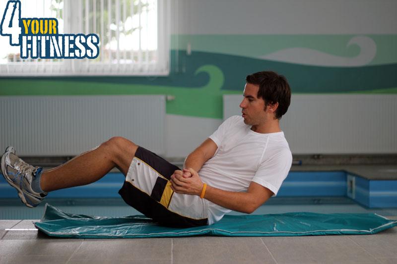 Bauchmuskelübungen für zu Hause - Russian Twist