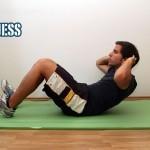 Bauchmuskelübungen für zu Hause - Crunch