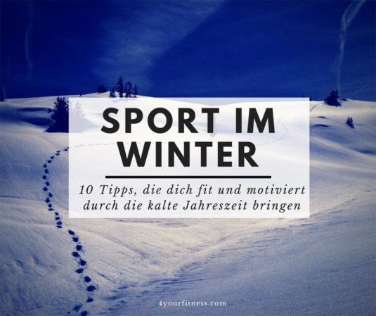 Sport im Winter Titelbild