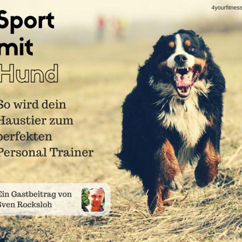 Sport mit Hund: So wird dein Haustier zum perfekten Personal Trainer