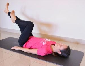 Eine Bodyweight Übung für deine Bauchmuskulatur: Supine Cycling