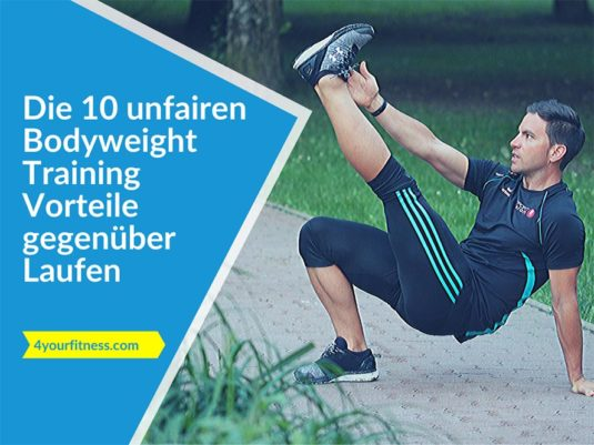 Titelbild, Artikel. Bodyweight Training Vorteile
