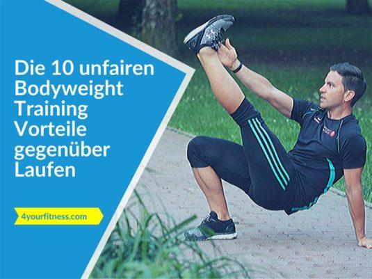 Titelbild, Artikel. Bodyweight Training Vorteile