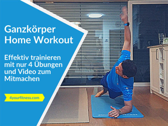 Home Workout, Titelbild, Blogartikel